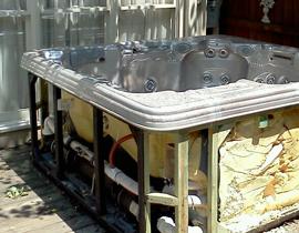 AZ junk Hot tub hauling