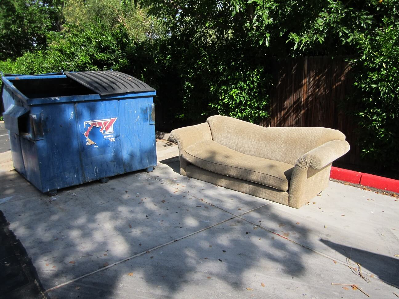 phoenix single item couch removal