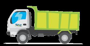truck bulk trash pickup