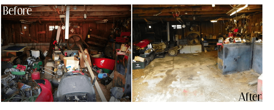 Just Removing Junk From The Garage Made The Move Much Easier