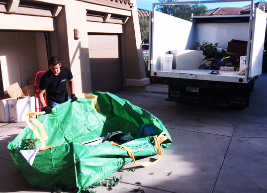 bagster junk removal pickup