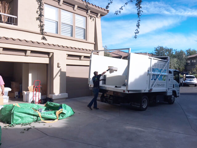 bagster-pickup-removal - Arizona Junk Removal