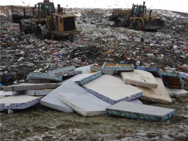 mattress dump