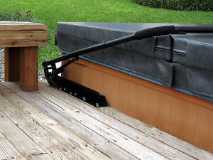 hot tub cover in summer
