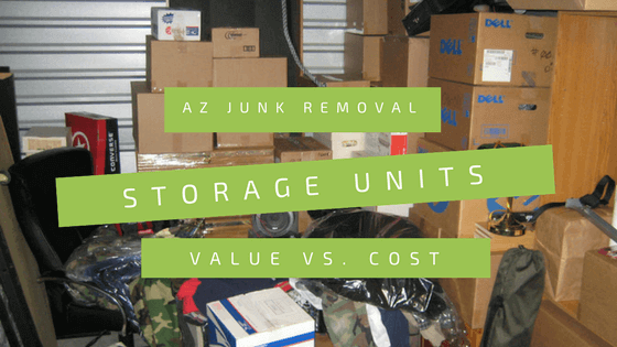 Cost Of Storage Unit