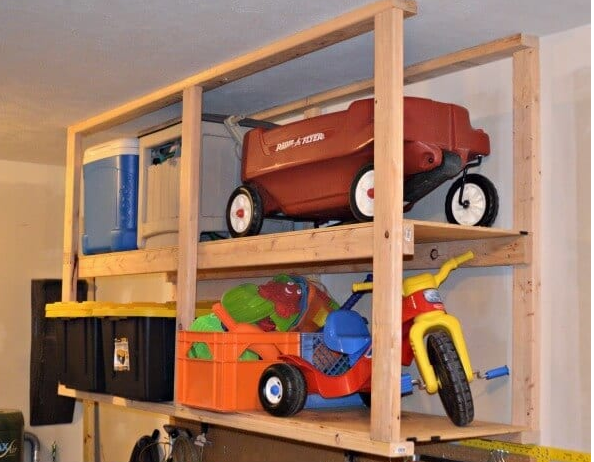 build shelving for garage