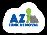 az junk removal logo for post