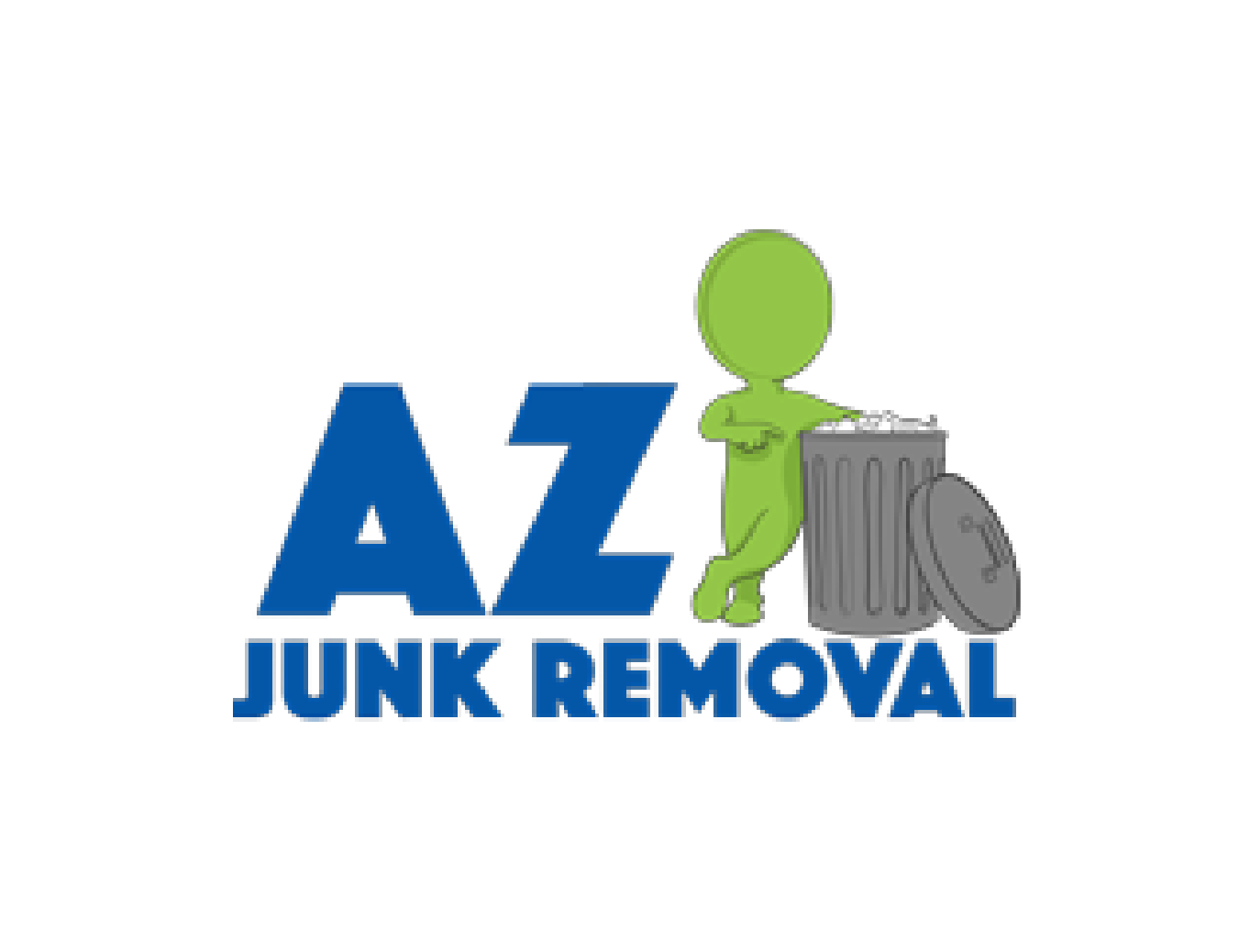 az junk removal logo for post