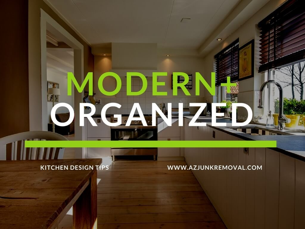 organize and modernize decor