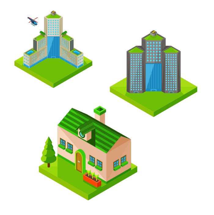 types of buildings