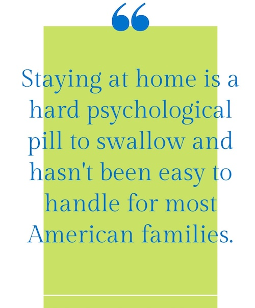 psychology of staying home