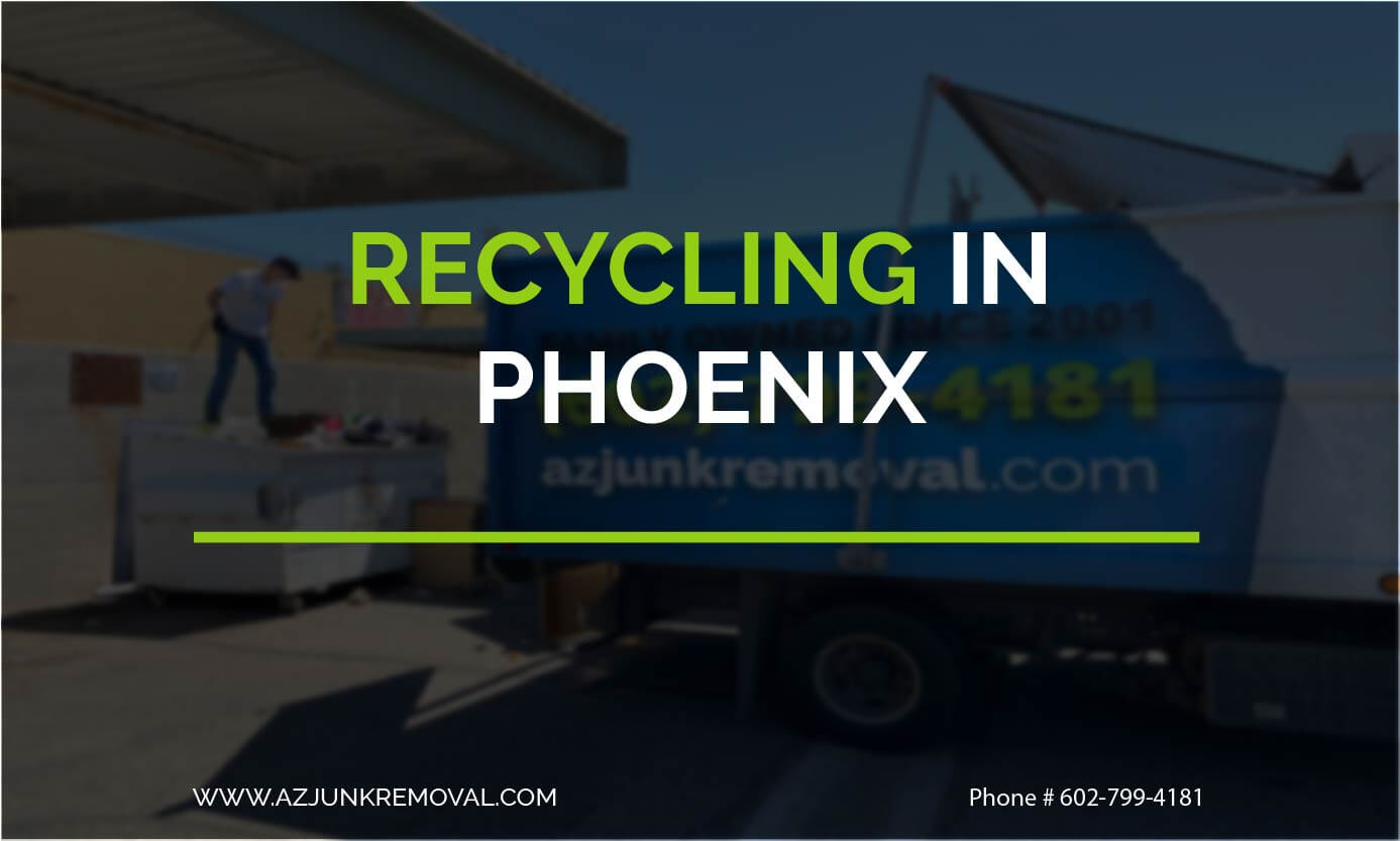 Recycling in Phoenix, Arizona