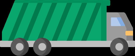 20 yard dumpster icon
