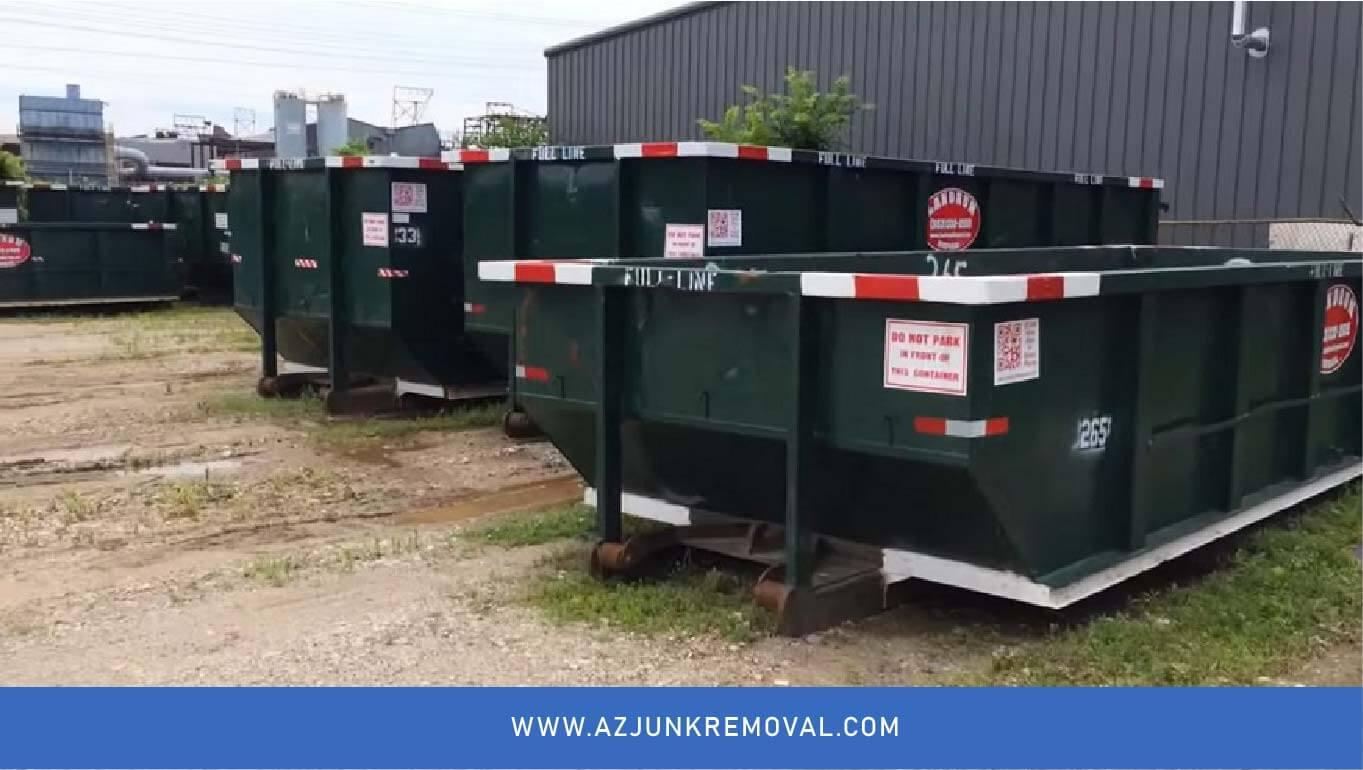 Information Regarding Dumpster Sizes