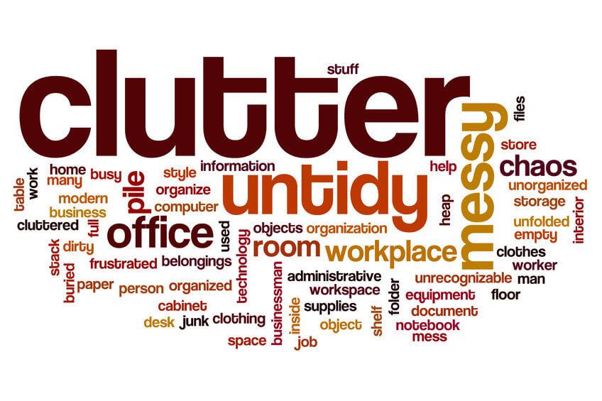 clutter infographics