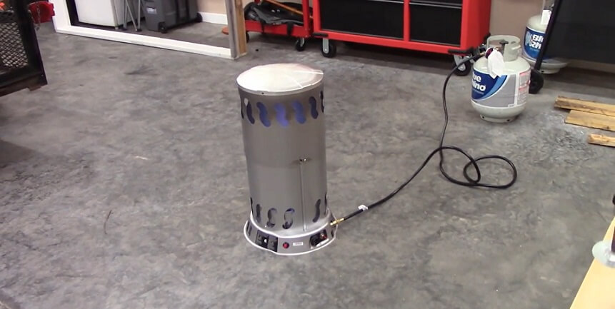 convection heater for hot tub