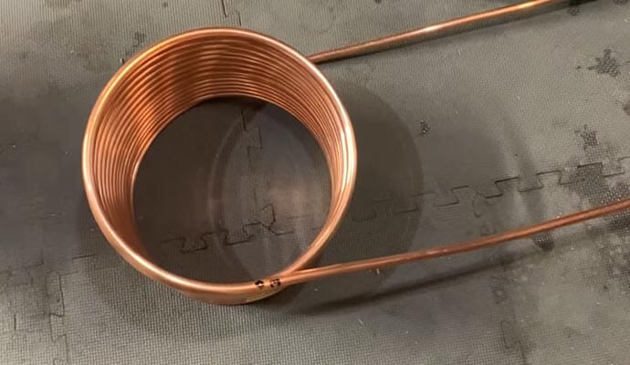 heating coil system building process
