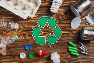 Recyclable symbol and items